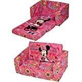 Kids Flip Out Sofa Bed With Sleeping Bag Amazon Co Uk Sofas Children U0027s Furniture Home U0026 Kitchen