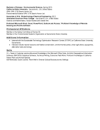 Proficient In Microsoft Office Resume Resume Live Career