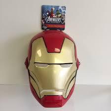 Avengers Halloween Costumes Marvel Avengers Iron Man Face Mask Halloween Costume Ages 3