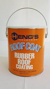 Sta Kool Elastomeric Roof Coating by Amazon Com Heng U0027s Rubber Roof Coating 1 Gallon Automotive