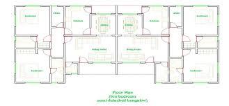 semi detached floor plans two bedroom semi detached house floor plans functionalities net