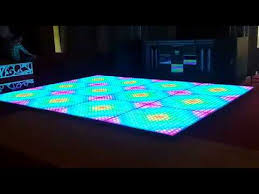 led floor rental led floor led light up floor on rent 09990908622