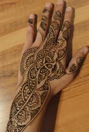 fabulous henna tree tattoo on hand real photo pictures images