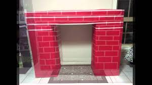 trend homemade fireplace for christmas 43 with additional with