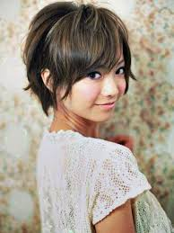 short hairstyles for round faces asian women medium haircut