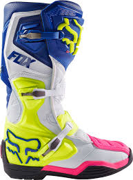 fox racing motocross 2017 fox racing comp 8 boots mx atv motocross off road dirt bike