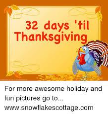 32 days til thanksgiving feeturepics dazdraperma for more