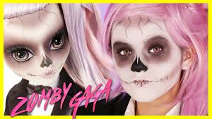lady gaga halloween costume lady gaga born this way monster high doll makeup tutorial zomby