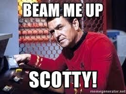 Meme Generator Star Trek - beam me up scotty scotty star trek meme generator