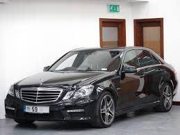 used 2009 mercedes benz e class e63 amg for sale in west yorkshire