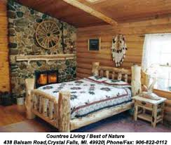 log bed log cedar log bed log beds rustic log bed log home