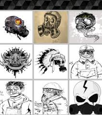 graffiti gas mask drawing android apps on google play