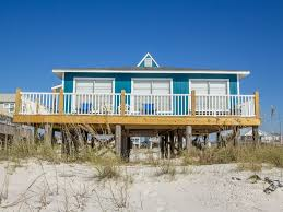 2br gulf front bungalow at uncrowded beach location gulf shores
