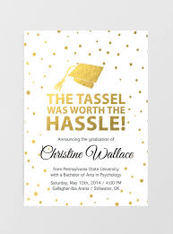 graduation invite printable graduation invitation graduation announcement tassel was