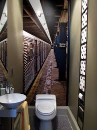 dark ci olive juice designs bathroom storage nyc subway mural v to