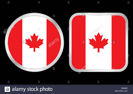 Canada Flag Colors Badge Canadian Flag Stock Photos U0026 Badge Canadian Flag Stock