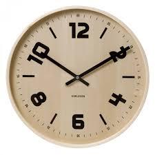 extra large wood wall clocks