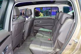 2015 renault espace rear seat at the 2014 paris motor show