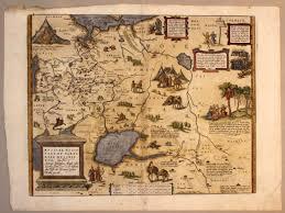 Map Russia Russia Moscovy Tartaria Ortelius Jenkinson