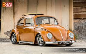 orange volkswagen beetle vw beetle u2013 volks world