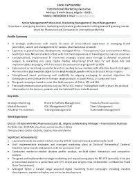 resume sample marketing marketing samples resume sample marketing