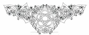 celtic lotus pentacle tattoo by roguewyndwalker on deviantart