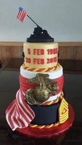happy birthday marine corps cake retirement living pinterest