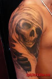 half sleeve grim reaper tattoo design for guys tattoos book