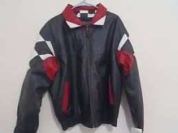 corvette racing jacket corvette racing leather jacket burk s bay s xl genuine