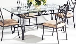 glass top dining room tables rectangular dining table homelegance starhill rectangular glass dining table