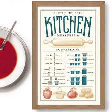 tableau de conversion pour cuisine tableau de conversion des mesures pour cuisine impression