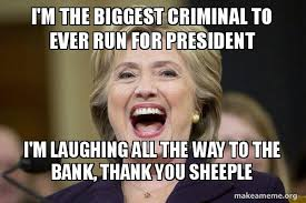 Sheeple Meme - i m the biggest criminal to ever run for president i m laughing