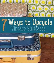Upcycle Crafts - upcycle vintage suitcases vintage suitcases upcycle and