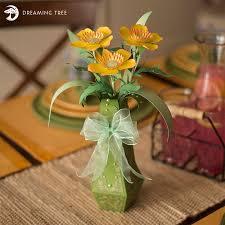 3d Flower Vase Buttercup Flower With Vase Svg Dreaming Tree
