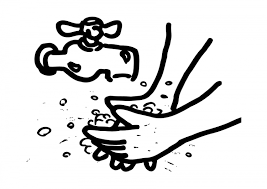 Hand Washing Coloring Sheets - printable coloring pages for kids coloring pages part 46