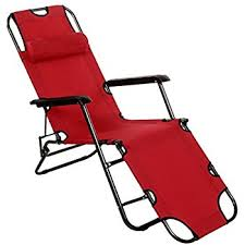 Folding Chaise Lounge Chair Amazon Com Folding Chaise Lounge Chair Patio Outdoor Pool Beach