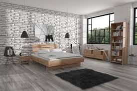 interior urban scandinavian bedroom in the style of loft by user