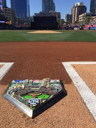Home Plate Baseball by Fazzino Hits A Home Run In San Diego For The Mlb All Star Game