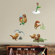 roommates 5 in w x 11 5 in h good dinosaur peel and stick wall