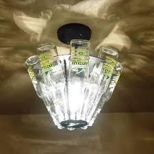 beer bottle light fixture beer bottle light fixture