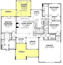 split floor plan house plans split floor plan traditional farmhouse 3 bedroom 2 bath with split