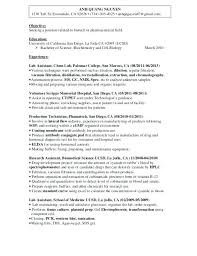 Resume Researcher 100 Lab Assistant Resume Professional Resume For Medical