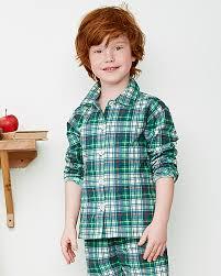 children s flannel pajamas garnet hill