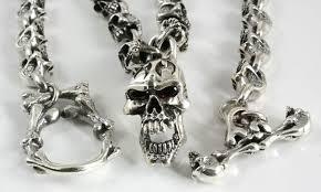 necklace skull images Skull necklace 925 sterling silver skull necklace bikerringshop jpg