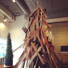 scout christmas tree made of plywood yelp