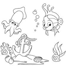 fish coloring pages coloring book kids u2013 android forum