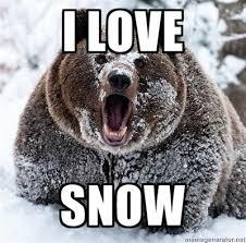 Memes Love - photos i love snow v i hate snow memes westword