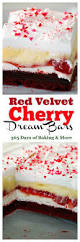 red velvet cherry dream bars 365 days of baking and more