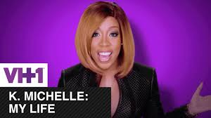 k michelle bob hairstyles watch k michelle unwraps new my life supertrailer with