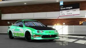 forza 5 drift project 2 acura integra type r gameplay youtube